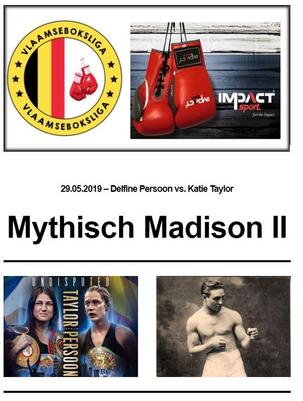 Mythisch Madison II nieuwsbrief